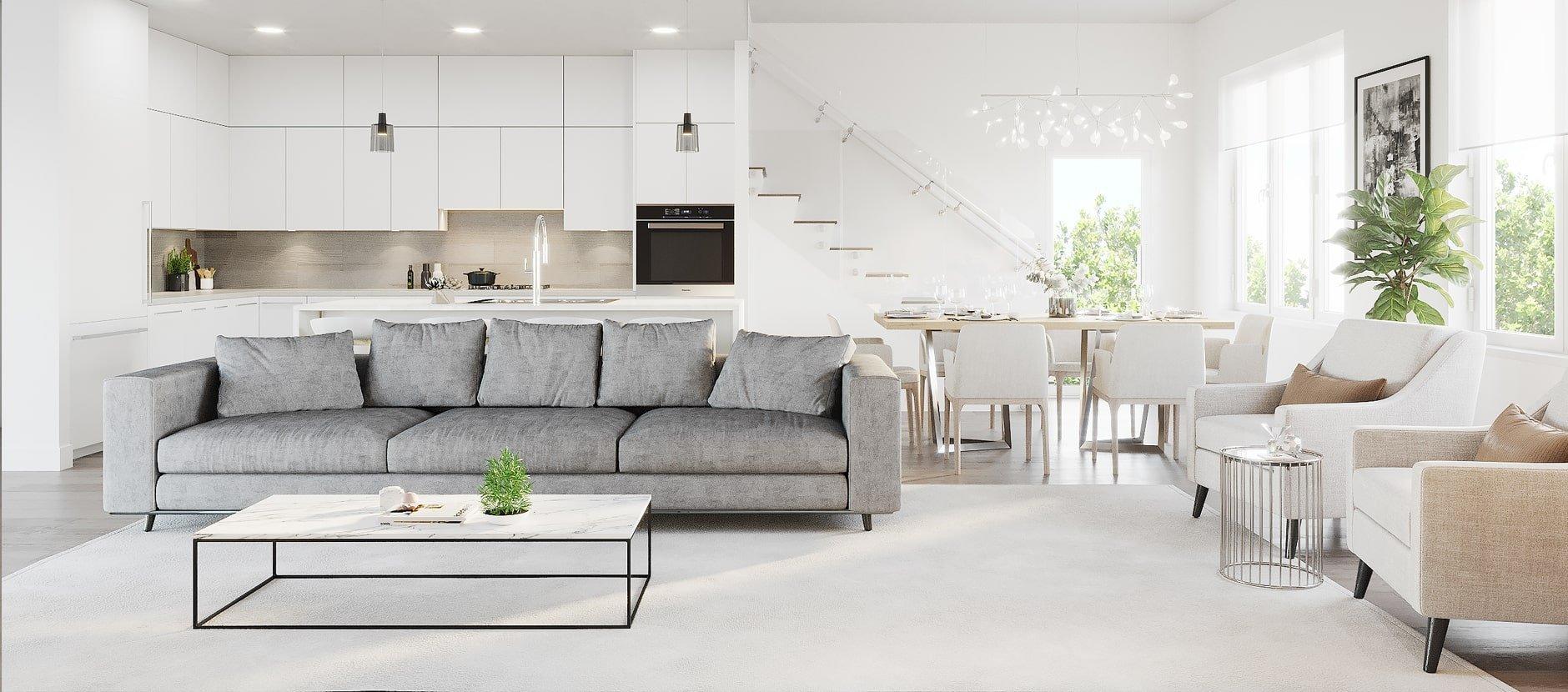 Living Area - 3095 Crescentview Dr, North Vancouver, BC V7R 2V2, Canada!