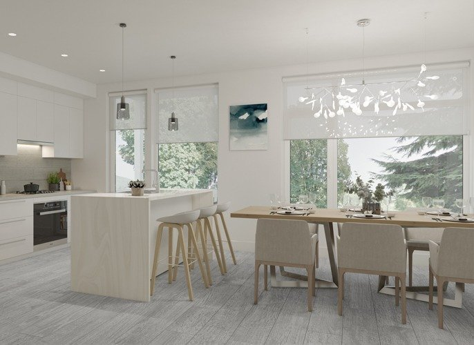 Dining Area - 3095 Crescentview Dr, North Vancouver, BC V7R 2V2, Canada!
