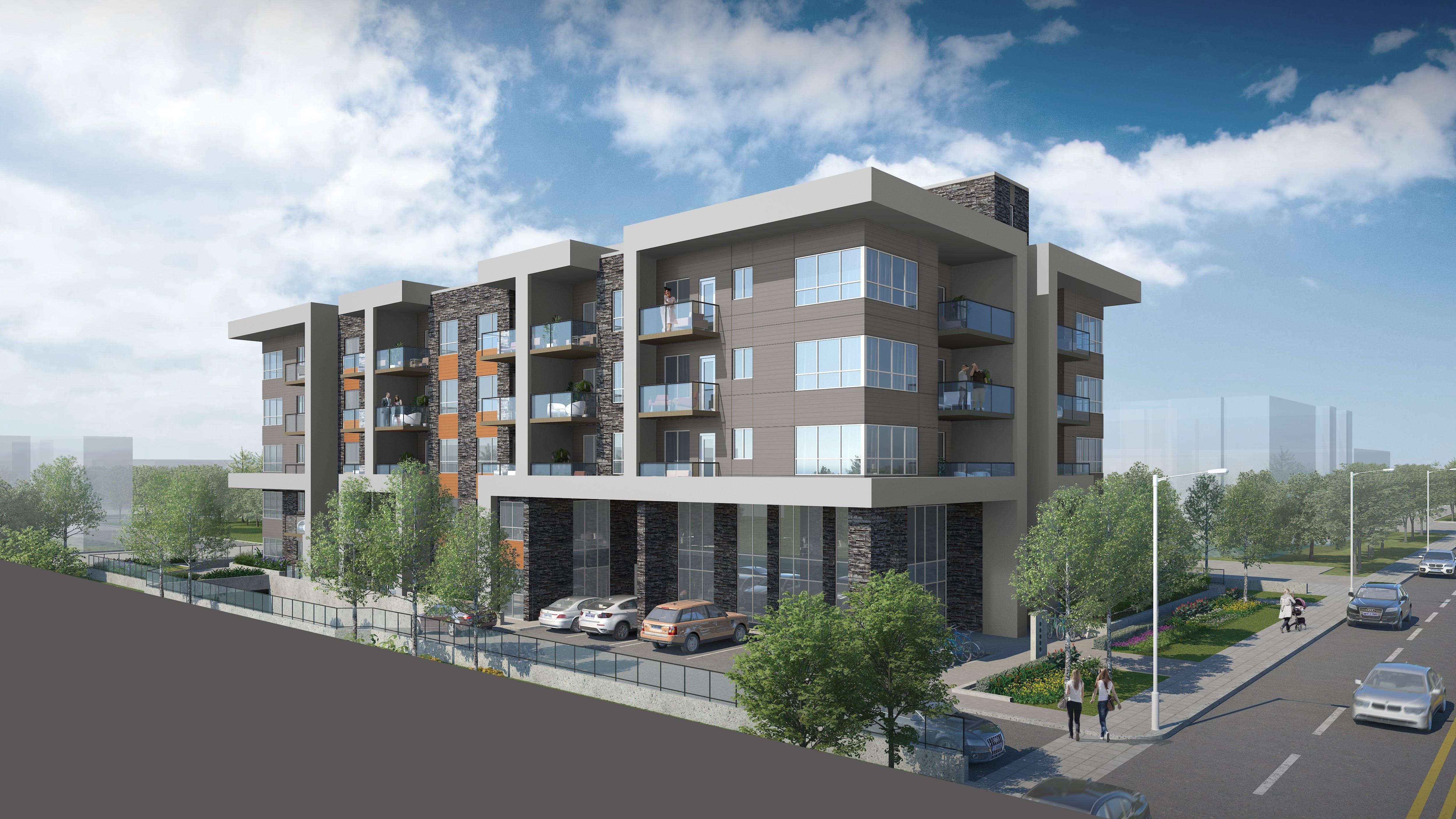 The Ridge - 11917 Burnett St - Building exterior!