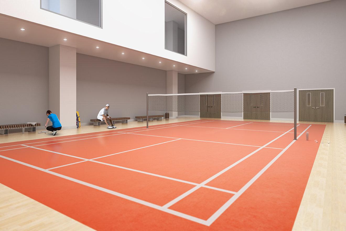 Badminton Court - 6398 Silver Ave, Burnaby, BC V0V 0V0, Canada!