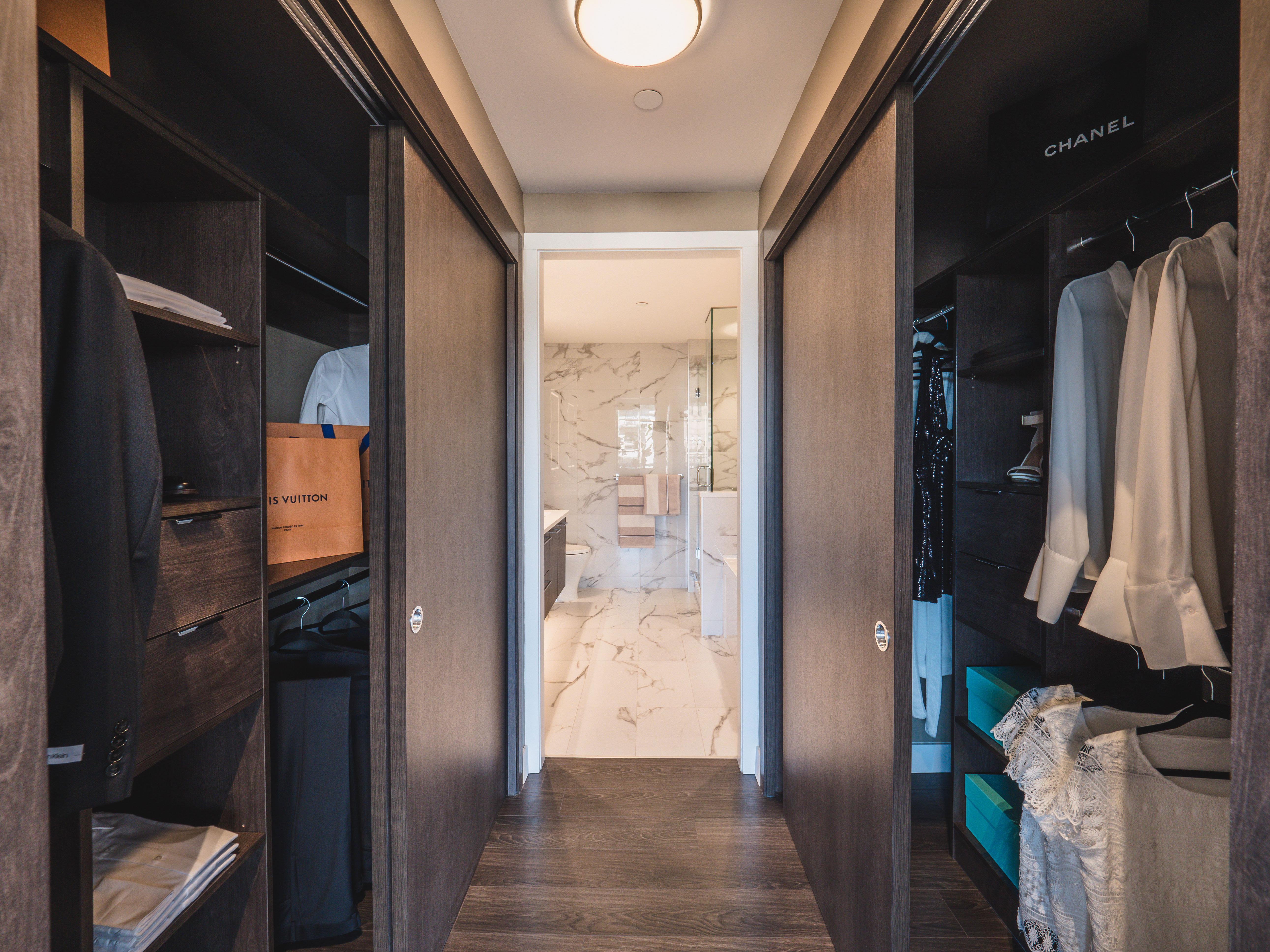 Walk-in closet - 6398 Silver Ave, Burnaby, BC V0V 0V0, Canada!