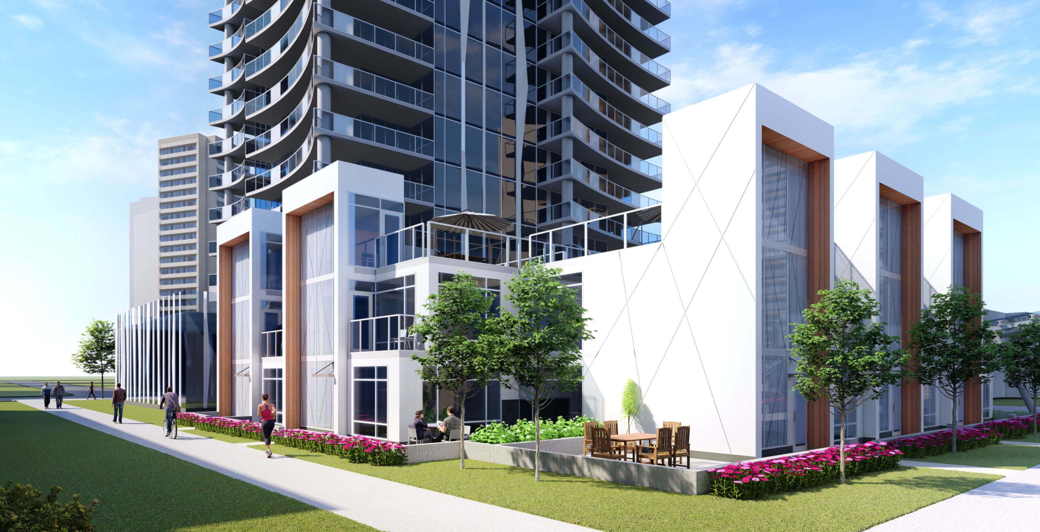 Building Exterior - 6390 Willingdon Ave, Burnaby, BC V5H 2V5, Canada !