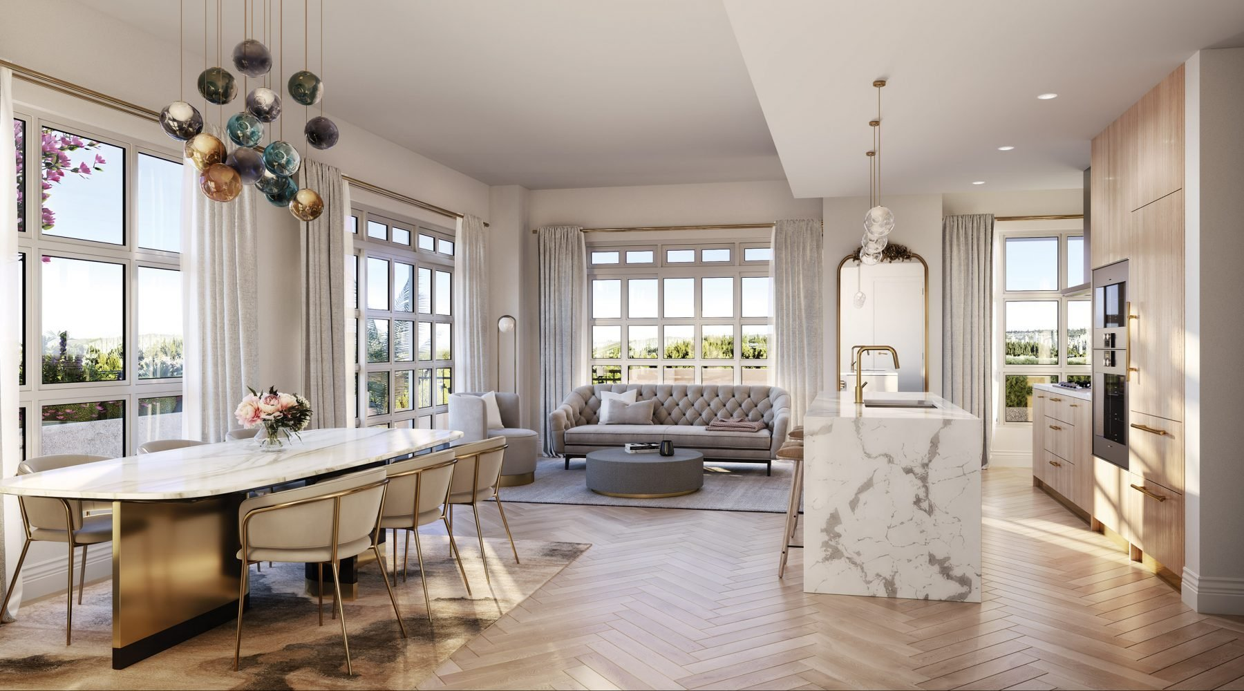 Chlo� Kerrisdale by Matchpoint Development - Dining/Living!