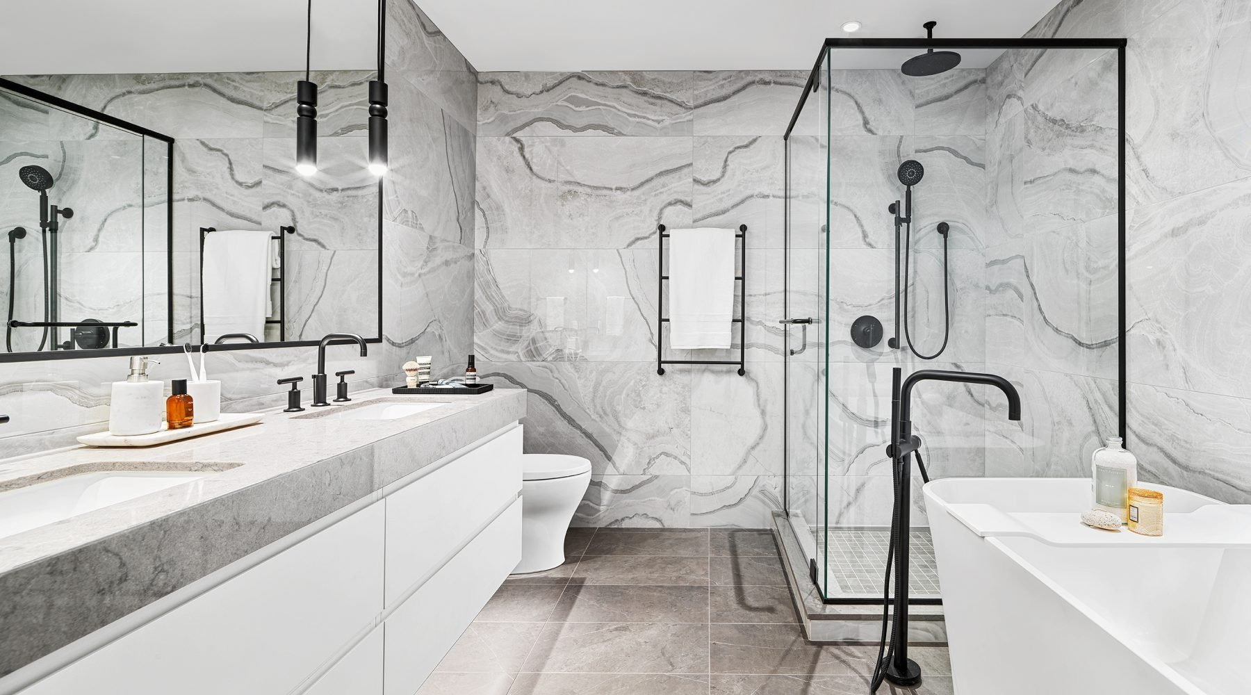 Chlo� Kerrisdale by Matchpoint Development - Bathroom!