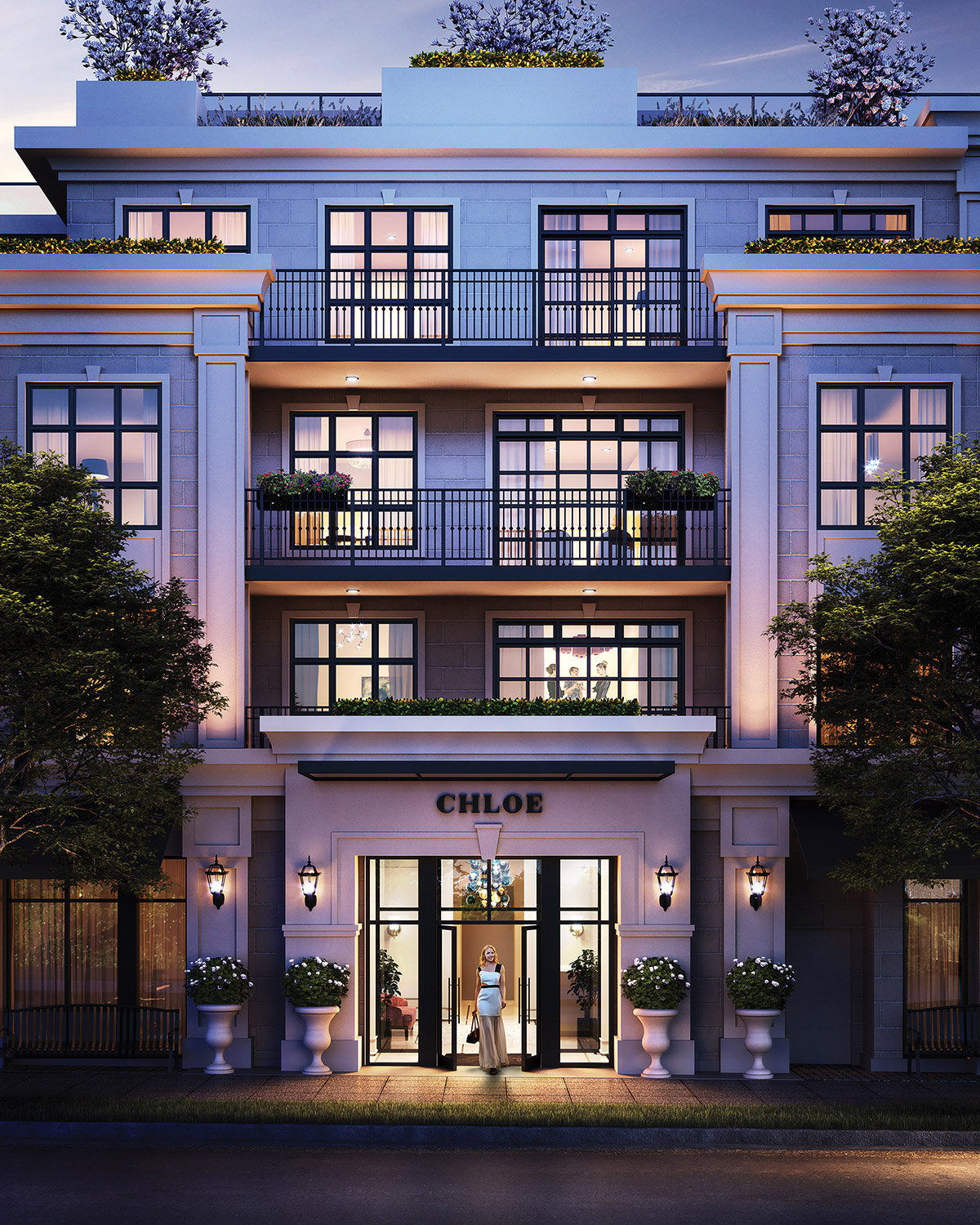 Chlo� Kerrisdale by Matchpoint Development - Entrance!