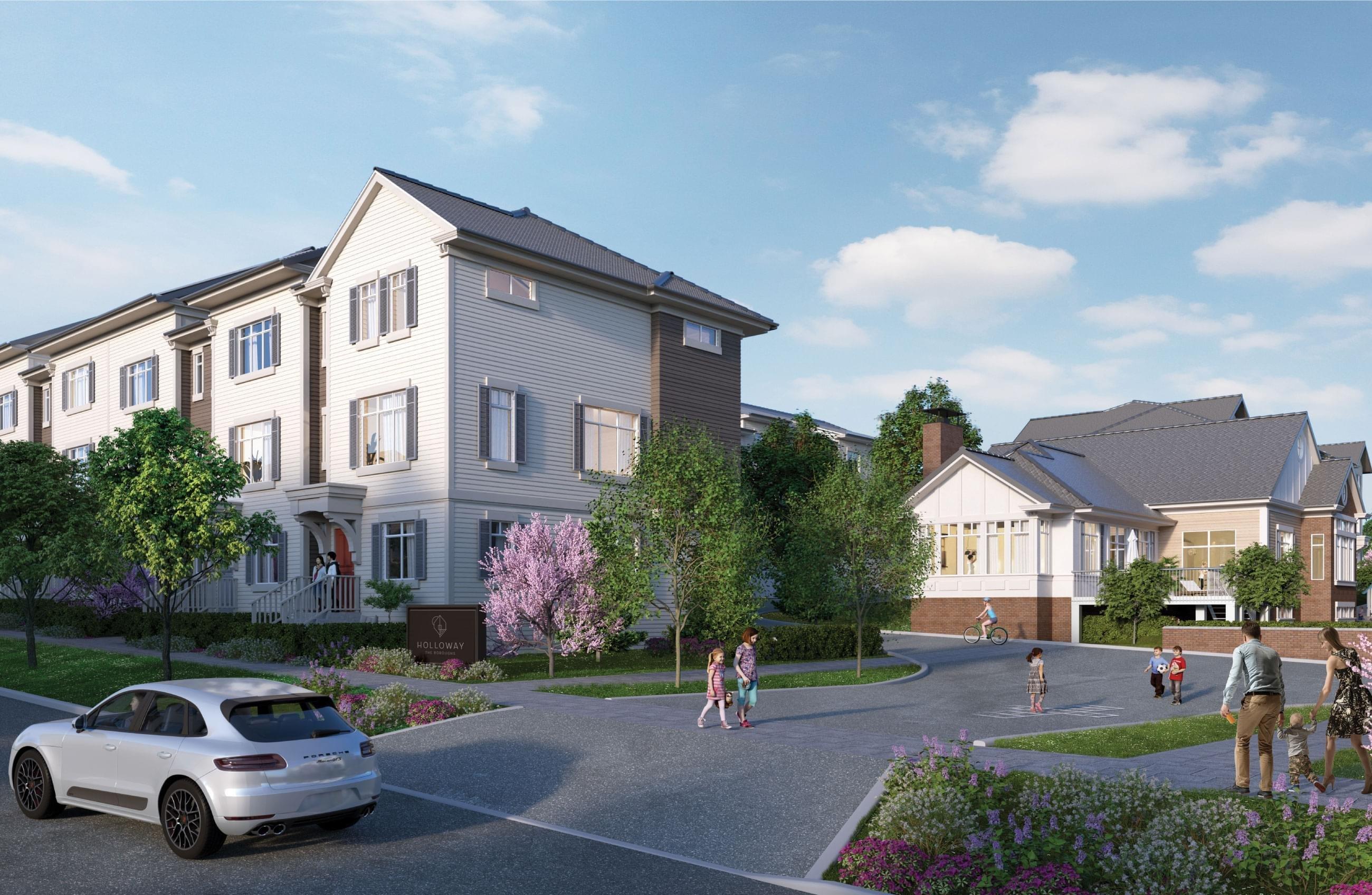 The Boroughs - 2070 Oak Meadows Drive, Surrey - StreetSide Developments!