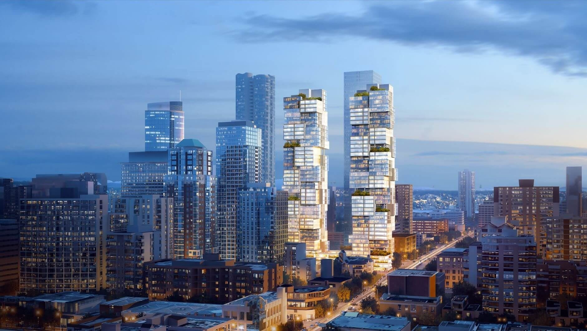 Barclay x Thurlow - 1070 Barclay St - Rendering - by Bosa Properties!