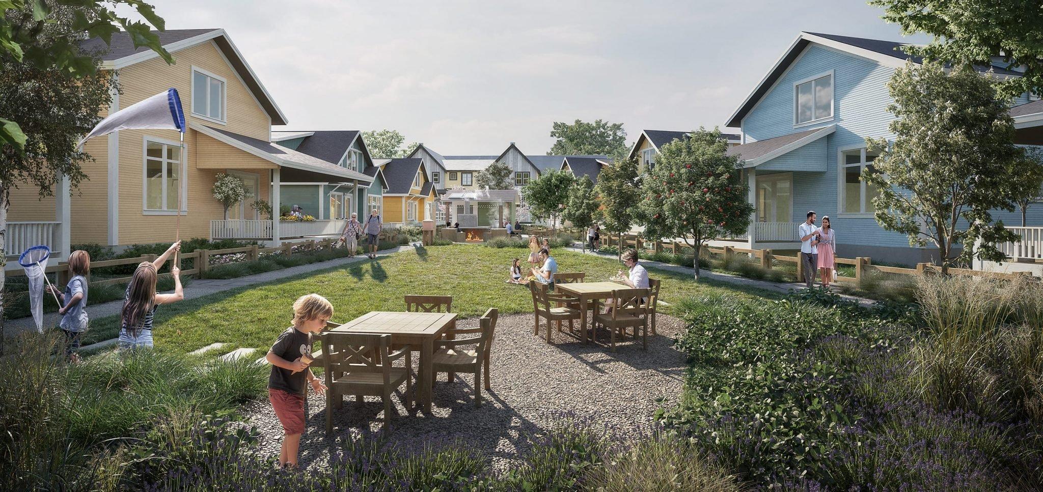 Southlands Courtyard Cottages - 263 Parkside St, Tsawwassen, BC V4L 0A9, Canada!