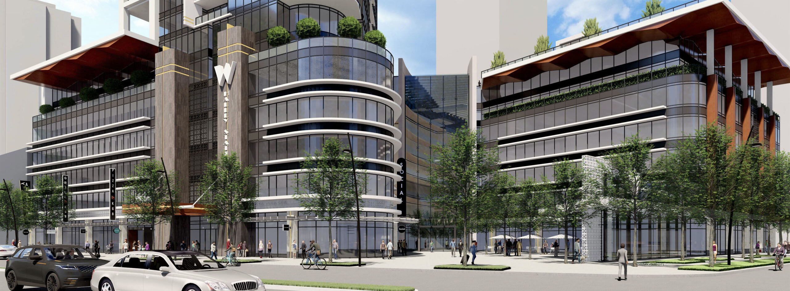 Whalley Station - 10761 King George Blvd - Rendering by Tien Sher Group of Companies!