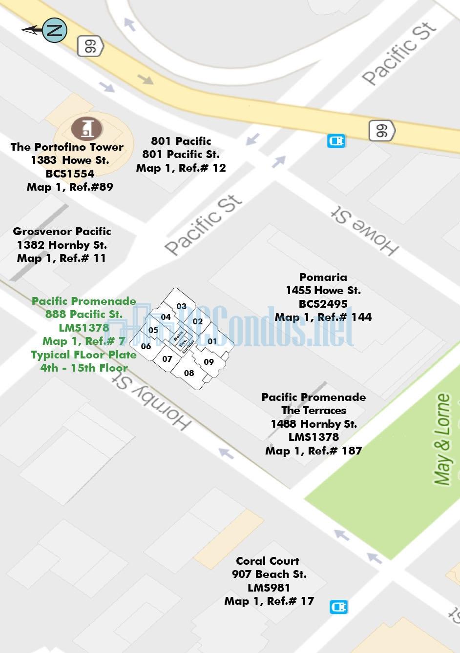 Pacific Promenade 888 Pacific Street Vancouver 6717000 Com