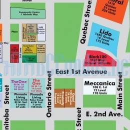 1887 Crowe Street Floor Plan Pinnacle Living False Creek
