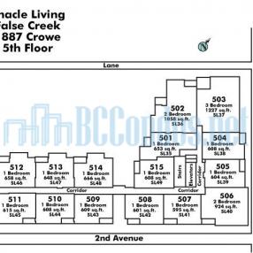 Pinnacle Living False Creek 1887 Crowe Street Vancouver