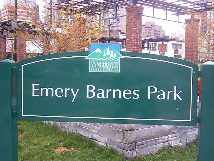 Main Image for Emery Barnes Park, 1100 Seymour Street