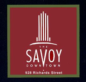 The Savoy, 928 Richards, BC