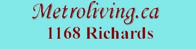 1168 Richards, 1168 Richards, BC