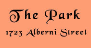 The Park, 1723 Alberni, BC