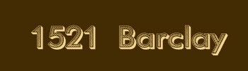 1521 Barclay, 1521 Barclay, BC