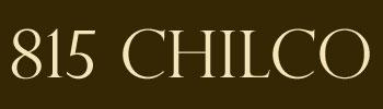 815 Chilco, 815 Chilco, BC