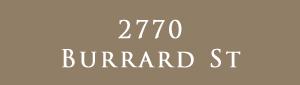 2770 Burrard, 2770 Burrard Street, BC
