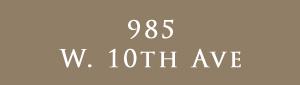 985 W. 10th, 985 W. 10th Ave, BC