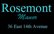 Rosemont Manor, 36 E. 14th Ave., BC