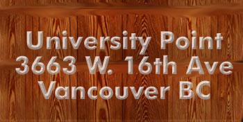 University Point, 3663 West 16th Avenue, BC