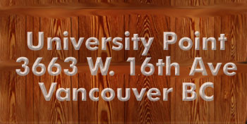 University Point, 3663 West 16th Avenue, BC
