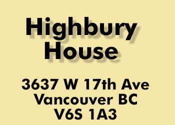 Highbury House, 3637 West 17th Avenue, BC