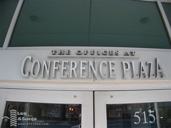 Conference Plaza Strata Office Building, 515 West Pender, BC