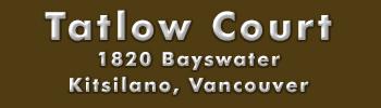 Tatlow Court, 1820 Bayswater Street, BC