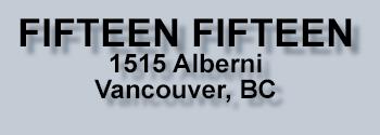 FIFTEEN FIFTEEN, 1515 Alberni Street, BC