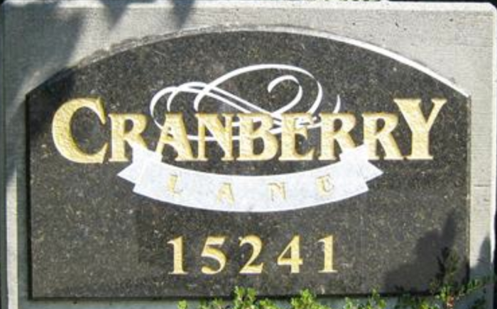 Cranberry Lane 15241 18TH V4A 1W9
