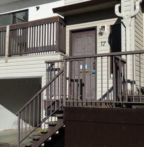 Typical doorway of units!