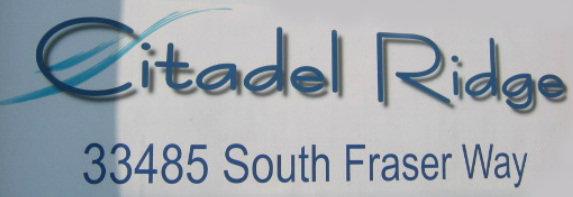 Citadel Ridge 33485 FRASER V2S 8P9