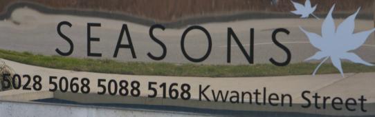 Seasons 5028 KWANTLEN V6X 4K2