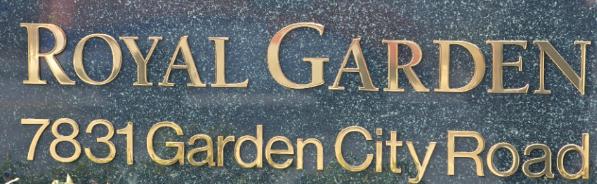 Royal Garden 7831 GARDEN CITY V6Y 4A3