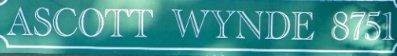 Ascott Wynde 8751 CITATION V6Y 2Y5