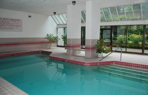 indoor swimming pool!