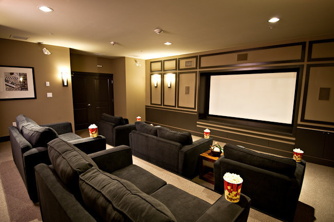 The Timbers Club - Theater Room!