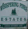 Whispering Pines 45640 STOREY V2R 4E6