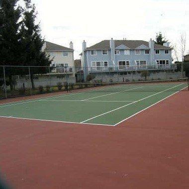 Upton Place South - Tennis Court!