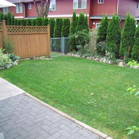 Fenced Backyard!
