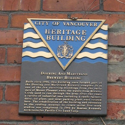 Heritage Building Sign!
