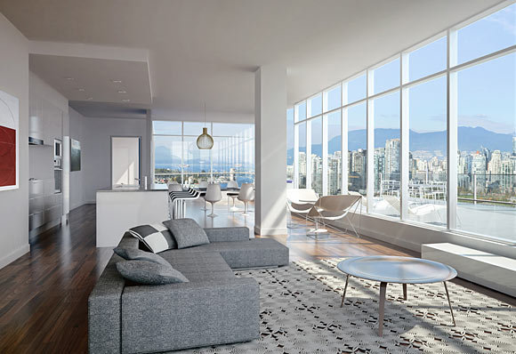 700WEST8TH - Living Room!