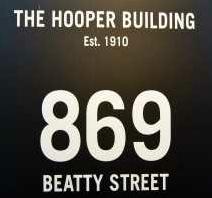 The Hooper Building 869 BEATTY V6B 2M6