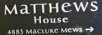 Matthews House 4883 MACLURE MEWS V6J 5M8