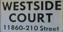 Westside Court 11860 210TH V2X 8A3