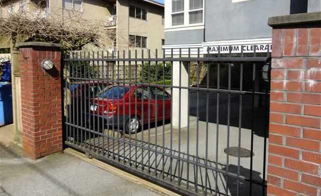Secure Parking!