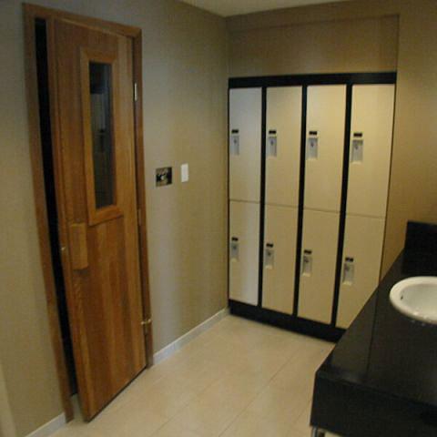 Change Room And Sauna!