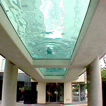 Glass Bottom Pool!